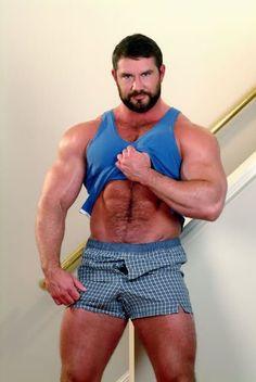 Bo Dixon Big Muscles, Hairy Chest, Mature Men, Hairy Men, Muscle Men, Gorgeous Men, Hot Guys, Sportswear, Handsome