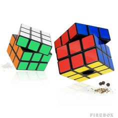 Season food with Rubik's Cube salt and pepper mills. | 25 Clever Ways To Feed Your Inner Geek