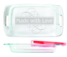 Baking Dish - Made with Love