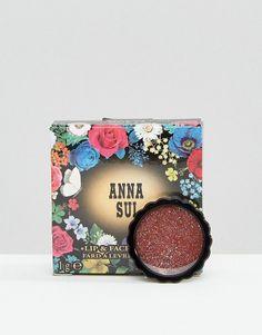 Anna Sui - Gloss lèvres et visage - Scintillant - Doré