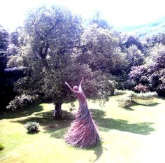 the wicker lady, shambellie house, new abbey, dumfries & galloway