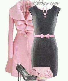 Pink/gray