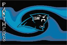 Carolina Panthers Afghan Chart Pdf by AngelscrochetedGifts on Etsy