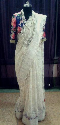 Sari by Ayush Kejriwal , To find out more about my brand  or purchases visit my Facebook page - Ayush Kejriwal #sarees,#saris,#indianclothes,#womenwear, #anarkalis, #lengha, #ethnicwear, #fashion, #ayushkejriwal
