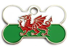 Wales Pet dog id tag | Happy Dog Days