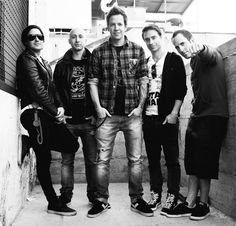 Day 17 - the band that plays your favorite song: Simple Plan. I have quite a few favorite songs, but one of them is Welcome To My Life by Simple Plan. [2/11/14]