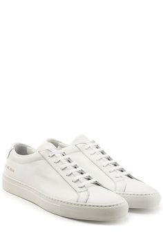 COMMON PROJECTS Leather Sneakers. #commonprojects #shoes #