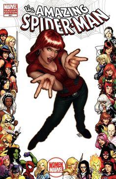 Mary Jane Watson by John Tyler Christopher Comic Book Characters, Comic Character, Comic Books Art, Comic Art, Tyler Christopher, John Tyler, All Spiderman, Amazing Spiderman, Marvel Girls