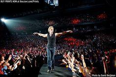 Photo © 2013 David Bergman / www.BonJovi.com/prints -- Bon Jovi performs at the Air Canada Centre in Toronto, ON on November 2, 2013.
