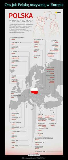 Oto jak Polskę nazywają w Europie