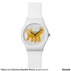 Yellow cat Collection May28th Watch. Watch