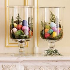 just realizing that our house has no decorations for easter. maybe this is a good place to start