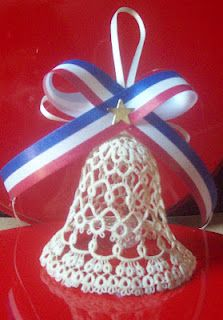 Lace bell  - It's a shame there's no pattern