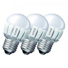 3er-Set Pharox LED 200 P45 #E27 #5W #230V Diese sehr schöne #E27 LED ist der perfekte #Ersatz für herkömmliche #Leuchtmittel. 5 W, Led Lampe, Light Bulb, Lighting, Home Decor, Light Fixtures, Nice Asses, Decoration Home, Room Decor