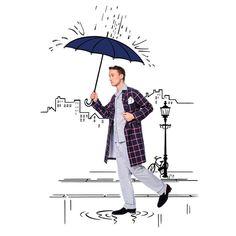 De jour comme de nuit, même sous la pluie #maisonmarcy #pajamainsideout #rainyday #popart