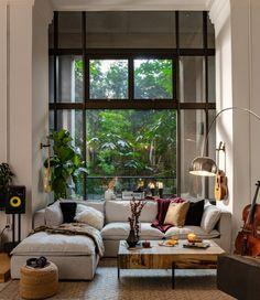 Home Living Room, Apartment Living, Living Room Decor, Living Spaces, Dog Spaces, Living Room Inspiration, Home Decor Inspiration, Design Inspiration, Decor Ideas