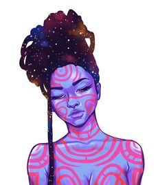 17 Ideas for art girl drawing pop Black Love Art, Black Girl Art, Black Girl Tattoo, Pop Art Girl, Black Girls, African American Art, African Art, Arte Sketchbook, Black Artwork