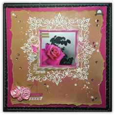 Couture Creations: Everything is beautiful by Tracey Rohweder #couturecreationsaus #decorativedies #scrapbooking