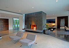 Modern House : Cozy Fire Places