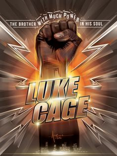 Luke Cage Netflix Tribute Poster - Orlando Arocena