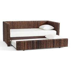 Seagrass Daybed with Trundle | Pottery Barn