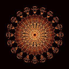 se rassembler !!! to gather !!! reunir !!! Mandala de Pierre Vermersch Digital Drawings