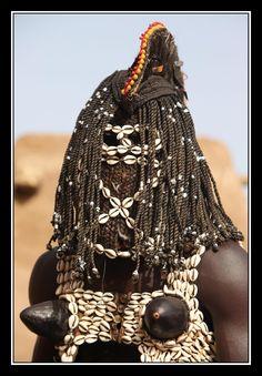 Africa | Portrait of a Dan Masked Dancer. Mali | © jomo01 on nationalgeographic.nl