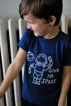 Children Clothing Astronaut Space Tshirt Kids by charlieandsarah, $20.00