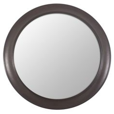 Decor Therapy Bronze Woodgrain Round Mirror (Bronze)