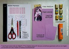 DIY Cartão dia das Mães - Blog Namorada Criativa - Materiais