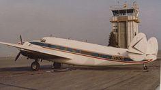 1942 Lockheed Lodestar 18-56 N520R at the Concord Airport in California.