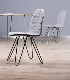 Mannequin III chair and Mannequin table