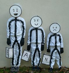 Stickmen Costumes