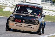 Fiat 126, Kei Car, Ride 2, Fiat Abarth, Car Colors, Vintage Race Car, Small Cars, Rally Car, Fast Cars