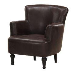 Fotel Dover Bufflo Dark Brown | Bonami