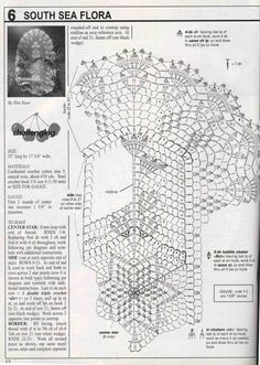 """Delta-Zelta......My small world in the blogging universe......: """"Study In Clusters"""" & """"South Sea Flora"""" (My Doily No.11 & 12)"""