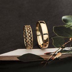 Boho Wedding Ring, Wedding Ring For Him, Rustic Wedding Rings, Wedding Rings Simple, Beautiful Wedding Rings, Wedding Rings Rose Gold, Beautiful Engagement Rings, Wedding Rings For Women, Rings For Men