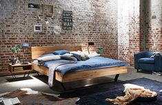 indusztriális, vintage lakás Furniture, Bedroom Design, Rustic Furniture, Modern, Loft Design, Home Decor, Bed, Bed Styling, Bedroom