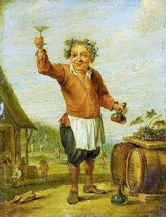 1600s David Teniers the Younger (Flemish artist, 1610–1690) Vintner