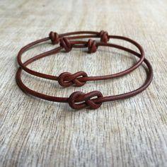 Simple Bracelet, Couple Bracelets, His and her Bracelet, Couples Jewelry, His and Hers Gifts, Infinity Couple Bracelet, Minimalist