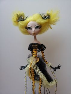 Art  Doll  Zlata., via Etsy.