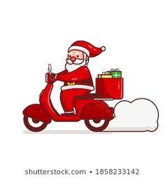 Stock Photo and Image Portfolio by Imajin No asking | Shutterstock Santa Cartoon, Gifts Delivered, Cartoon Characters, Fictional Characters, Royalty Free Stock Photos, Disney Princess, Illustration, Artist, Image