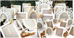 boda marina en gold y blanco