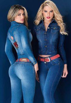 Jeans tipo exportación hecho en Colombia,100% índigos importados