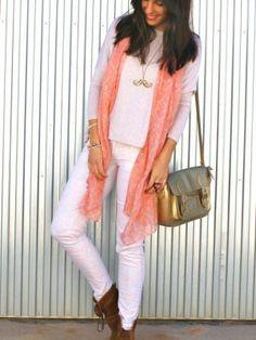 mariaexojo Outfit  primavera trendy fashion street style gold mango pink cool moda look love spring cute Lovely moustache truendy fashionista IT outfilt  Primavera 2014. Cómo vestirse y combinar según mariaexojo el 7-4-2014