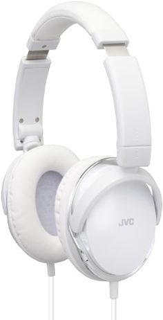JVC High-Quality Over-Ear Audio Headphones with Dynamic Sound - White JVC http://www.amazon.co.uk. £53,71....x