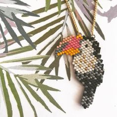 T O U C A N J' mon nouveau sautoir motif @monpetitbazar ! Et il a déjà fait des envieuses ✨ _________ #boho #bohostyle #bohochic #aztec #miyuki #miyukibeads #peyote #peyotestitch #brickstitch #tissage #beads #handmade #handmadewithlove #madewithlove #handmadejewellery #cestmoiquilaifait #diy #doityourself #bijoux #bijouxfaitmain #faitmain #bijouxcreateur #hippie #behappybehippie #perlesaddictanonymes #jenfiledesperlesetjassume #madewithlove #creavenue #createur #motifmonpetitbazar