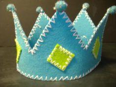 Une jolie couronne en feutrine pour petit roi - Déco & Loisirs créatifs - La Maison