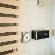 女性で、3LDK、家族住まいのパタパタクロック/デジタル時計/TOSO/ロールスクリーン/ラジオ/CDプレイヤー…などについてのインテリア実例を紹介。(この写真は 2015-01-06 11:26:46 に共有されました)
