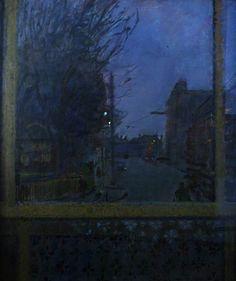 ruskin spear(1911–90), winter evening.